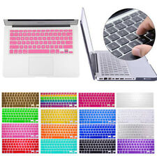 "Silicone Soft Keyboard Skin Cover Case for Apple Macbook Air Pro 13"" 15"" 17"" CA"