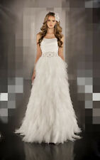 Handmade Tulle Beauty Decorated Wedding Dresses Bridal Gown Custom Made All Size