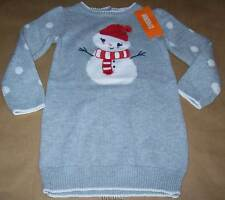 Gymboree Holiday Shop Snowman Sweater Dress  18-24 NWT