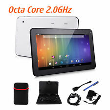 10 inch Tablet PC 16GB Android 5.1 Octa Core Bluetooth Bundle Keyboard /bag Gift