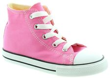 Converse Star Baby Boy Girl Toddler Infant  Hi Top Pink White Shoes Size 2-10