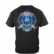 Erazor Bits T-Shirt - Fire Fighter - FireFighter Tribute- We will Never Forget 2