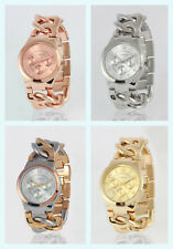 NEW Akribos XXIV AK531 Twist Chain Ladies Watch * Case Included * Various Colors