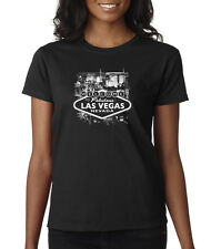 Welcome To Fabulous Las Vegas Gambling Sin City Stays In Ladies T-Shirt S-2XL