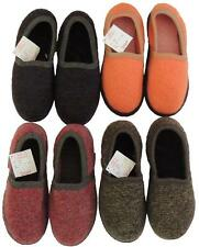 WESENJAK SLIPPER MOCCASINS MOCS BOILED WOOL NWT EURO SIZE 43 US M10 W11 COMFIEST