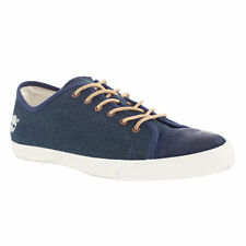 Timberland Men's Earthkeepers Glastnebury Canvas/Leather Navy Shoes Style #9818A