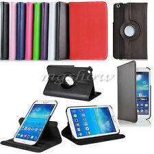 360 Rotating Leather Case Cover Stand For Samsung Galaxy Tab 3 P5200 T310 T210