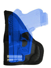 New Barsony Concealment Gun Pocket Holster Mini/Pocket .22 .25 .32 .380 w/ LASER