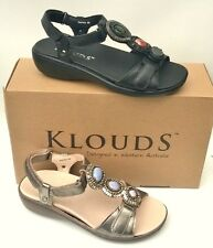 Klouds shoes - Orthotic friendly comfort leather Sandals Aurora