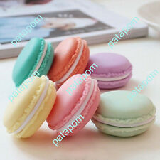 Lovely Candy Color Mini Macarons Jewelry Earrings Outing Storage Case Box Gift P