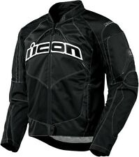 NEW ICON BLACK CONTRA JACKET TEXTILE JACKET STREET STUNT FREE FAST SHIP
