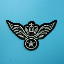 Army Military Police Wing Airforce Star Iron on Embroidered Patch Badge Motif
