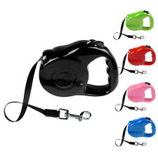 Pet Small Dog Cat Puppy Automatic Retractable Extendable Walking Leash Lead 3/5M