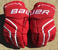 Bauer APX2 PRO Pro Stock Hockey Gloves Red Russian World Cup 8400
