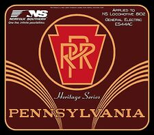 Norfolk Southern Heritage Locomotive 8102 Railroad Sign - PENNSYLVANIA