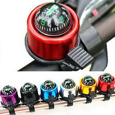 Hot New Bike Handlebar Bell Ring Ping Bell Road Bicycle With Gradienter Compass