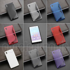 For Sony Xperia M4 Aqua S Line Skidproof Gel skin Case cover