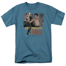 """Star Trek TOS """"Don't Mess With Sulu"""" T-Shirt - Adult and Child"""