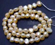 """SALE Small 5-6mm Natural Pink BAROQUE Freshwater Pearl Loose Beads 14""""-los619"""