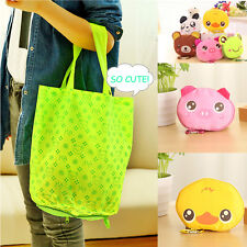 New Storage Handbag Cotton Cute Foldable Shopping Tote Reusable shopping Bags