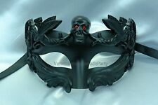 Halloween Masquerade Handmade Skull Mask For woman and man Costume prom Party