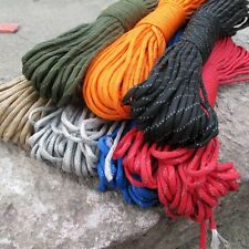 550 Reflective Paracord Parachute Cord 9 Strand Core 100 FT S59