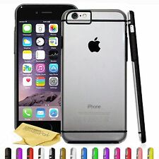 Ultra Slim Protective Hard Case Cover With Black For Apple iPhone 5 iPhone 6 6S