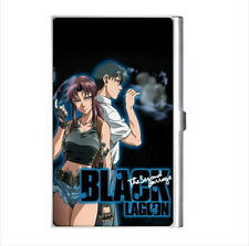 NEW Cigarette Credit Business Card Holder Black Lagoon Revy anime manga *rare