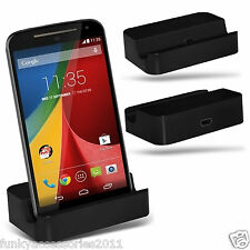 Desktop Charging Dock Stand Charger Micro USB?Vodafone Smart 4 Mini