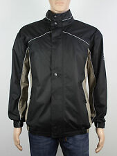 NEW Firethorn Golf Size S M L XL XXL 3XL mens black zip up waterproof jacket