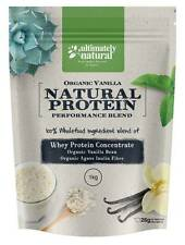 Organic Vanilla Natural Whey Protein Powder Shake Superfood Fueled Recovery 2kg