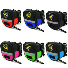 Bicycle Seat Bag Bike MTB Saddle Tail Bags Cycling Riding Accessories 6 Colors