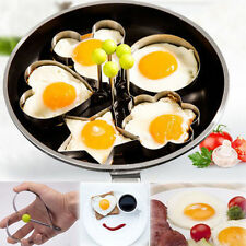 Stainless Steel Kitchen Cooking Fried Egg Shaper Ring Mould Mold Pancake Tool