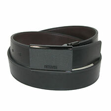 New Kenneth Cole Reaction Mens Plaque Buckle Reversible Belt