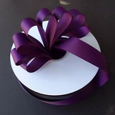 PLUM Grosgrain Ribbon Roll ASSORTED WIDTHS For Sewing & Decorating