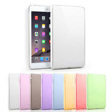 New Colorful Fashion Slim Clear TPU Skin Silicone Gel Case Cover for iPad mini 4