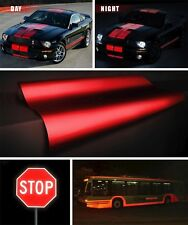 XPO Reflective Red DIY VVivid Car Vinyl Roll Decal Film 4ft (48 inches) wide