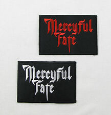 MERCYFUL FATE Iron On Sew On Embroidered Patch Thrash Metal