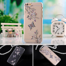 Fancy Women Rhinestone Bling Crystal Diamond Case Cover Protector For IPhone 6