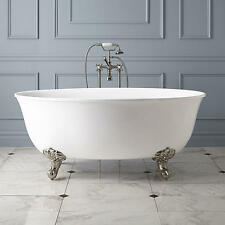 """59"""" Watters Acrylic Clawfoot Tub with Imperial Feet"""