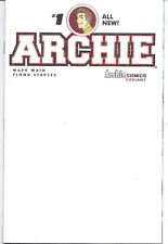 ARCHIE #1 BLANK COVER SOLD OUT FIRST PRINT!!