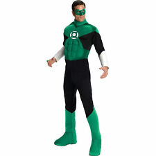 GREEN LANTERN Deluxe Mens Muscle Chest Costume Cosplay DC Comics