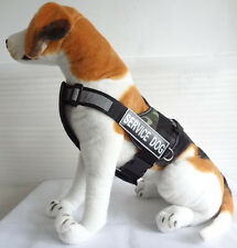 Service Dog Harness Vest w/ Removable Chest Plate & FREE Velcro Patches 9 Colors