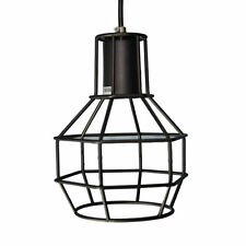 VINTAGE RETRO INDUSTRIAL HANGING BAR METAL CEILING LIGHT PENDANT LAMP CAGE SHADE