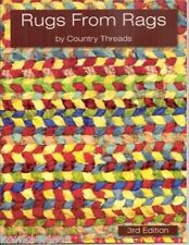 Rugs from Rags: rugmaking book and/or DVD ... weaving on frame loom