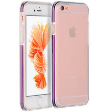 Ultra Thin Crystal Clear TPU/Rubber Back Cover Case for Apple iPhone 6/6 Plus