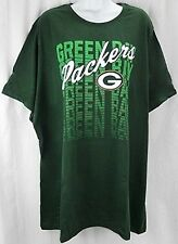 Green Bay Packers Women's Majestic Her Crew Neck Shirt Green Plus Sizes