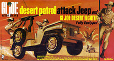1967 GI Joe Desert Patrol Attack Jeep Box Art Giclee Print Rat Patrol HASBRO