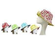 Beach Bucket Hat Adult Reversible Bright or Tropical Pattern Cruise Wear
