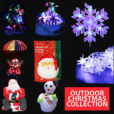 CLIMBING SANTA LIGHTS WALL MOUNTED LIGHT UP INDOOR/OUTDOOR Christmas Decoration